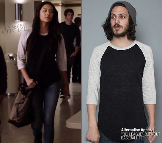 Shay Mitchell as Emily Fields in Alternative Apparel | 'Pretty Little Liars' - Episode x14