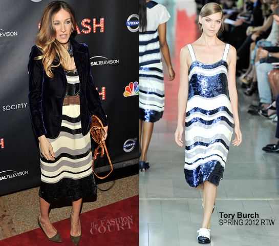 Sarah Jessica Parker in Tory Burch | NBC's 'Smash' NYC Premiere