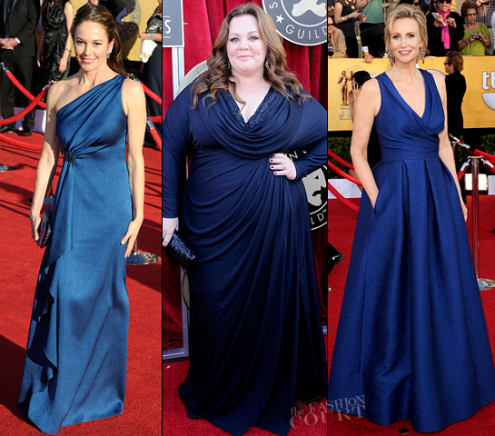 2012 SAG Awards: Something New, Something Fab, Something Blue