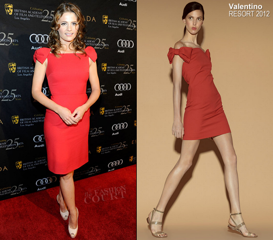 Stana Katic in Valentino | BAFTA Los Angeles' 18th Annual Awards Season Tea Party