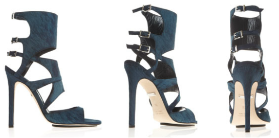Tania Spinelli Buckle Sandals