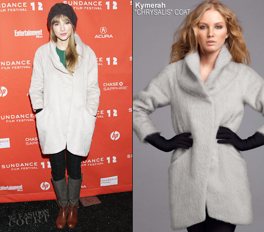 Taylor Swift in Kymerah | 2012 Sundance Film Festival - 'Ethel' Premiere