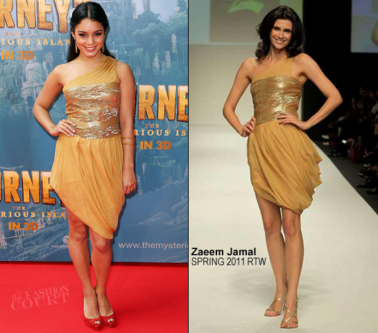 Vanessa Hudgens in Zaeem Jamal | 'Journey 2: The Mysterious Island' Melbourne Premiere