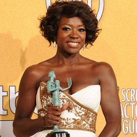 Viola Davis in Marchesa | 2012 Screen Actors Guild Awards