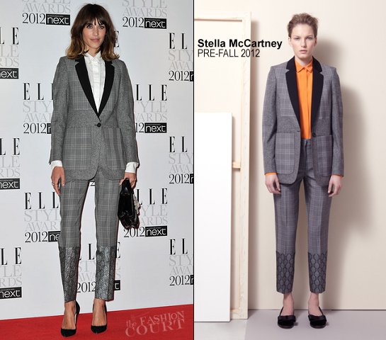 Alexa Chung in Stella McCartney | 2012 ELLE Style Awards