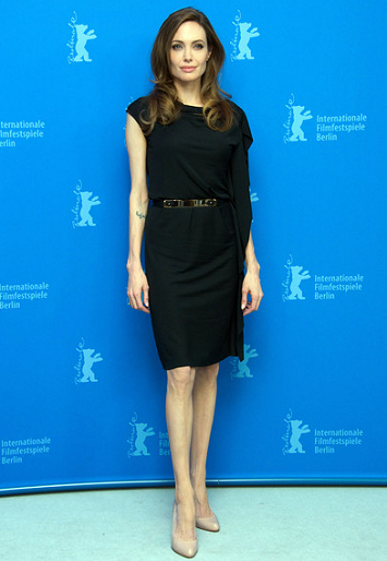 Angelina Jolie in Salvatore Ferragamo | 2012 Berlinale Film Festival - 'In The Land of Blood and Honey' Photocall