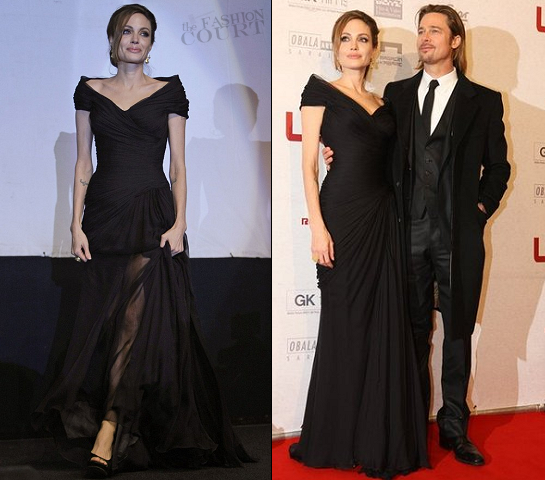 "Angelina Jolie in Versace | ""In the Land of Blood and Honey"" Sarajevo Premiere"