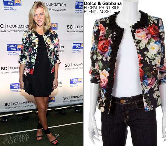 Brooklyn Decker in Dolce & Gabbana | Jay-Z's Carnegie Hall Concert