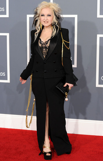 Cyndi Lauper in Jean Paul Gaultier | 2012 GRAMMY Awards