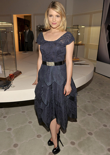 Dianna Agron in Vintage | Vanity Fair Montblanc Celebration