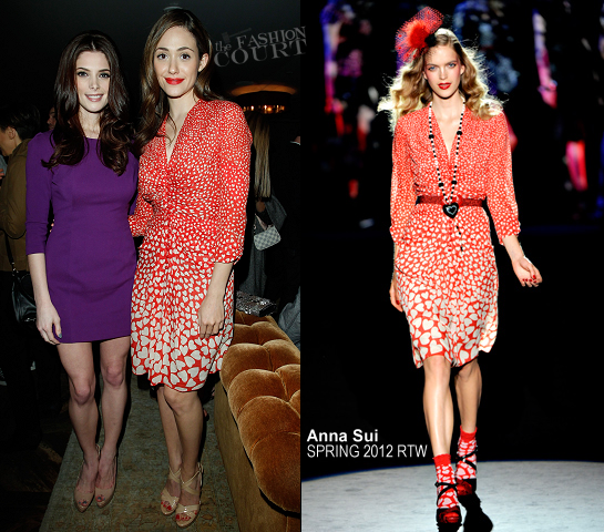Emmy Rossum in Anna Sui | Lucky Magazine Celebrates March Cover
