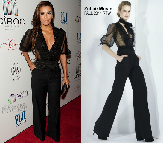 Eva Longoria in Zuhair Murad | Pre-Oscar Flamenco Night Hosted By Eva Longoria