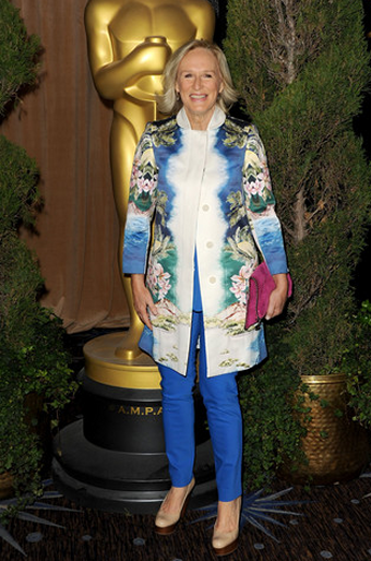 Glenn Close in Stella McCartney | 84th Annual Academy Awards Nominees Luncheon