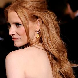 Jessica Chastain em Alexander McQueen | 2012 Oscars