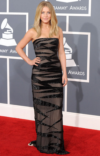Julianne Hough in KaufmanFranco | 2012 GRAMMY Awards