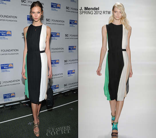 Karlie Kloss in J. Mendel | Jay-Z's Second Concert at Carnegie Hall