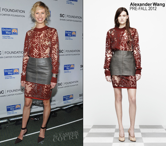 Karolina Kurkova in Alexander Wang | Jay-Z's Second Concert at Carnegie Hall