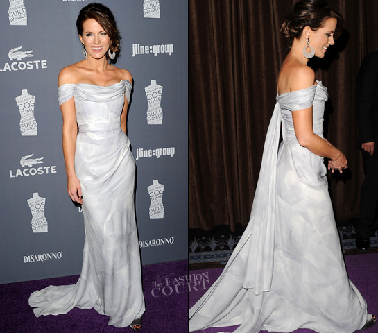 Kate Beckinsale in Vivienne Westwood Couture | 2012 Costume Designers Guild Awards
