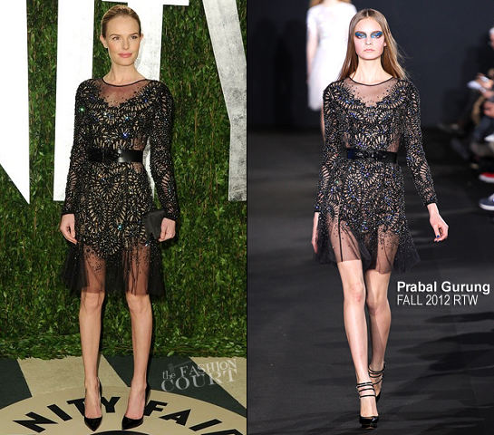 Kate Bosworth in Prabal Gurung | 2012 Vanity Fair Oscar Party
