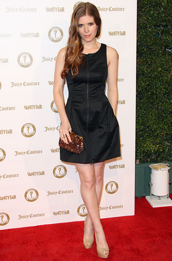 Kate Mara in BIRD by Juicy Couture | Vanity Fair's Vanities 20th Anniversary