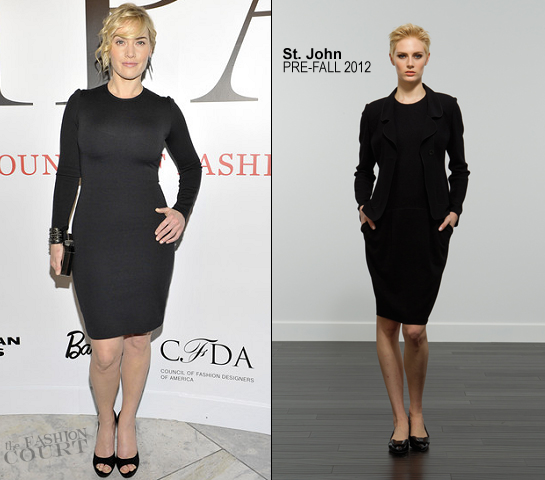 Kate Winslet in St. John | 'Impact: 50 Years of the CFDA' Exhibition Opening Night Gala