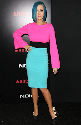 Katy Perry in Fausto Puglisi | 4th Annual Roc Nation Pre-GRAMMY Brunch