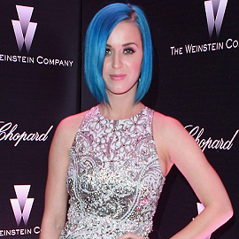 Katy Perry in Giambattista Valli | The Weinstein Company Celebrates The 2012 Academy Awards