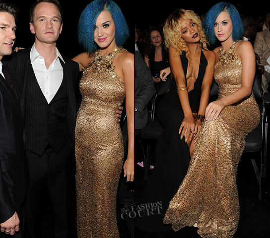 Katy Perry in Gucci | 2012 GRAMMY Awards