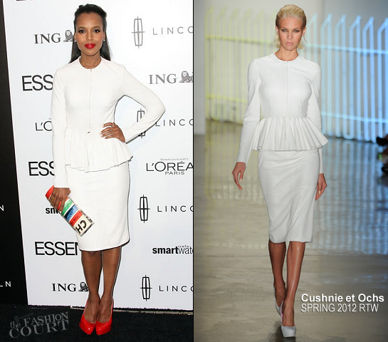 Kerry Washington in Cushnie et Ochs | 5th Annual ESSENCE Black Women In Hollywood Luncheon