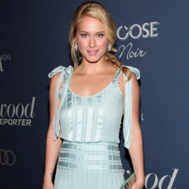 Leven Rambin in Tory Burch | The Hollywood Reporter's 'Nominees' Night 2012'