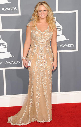 Miranda Lambert in PAVONI | 2012 GRAMMY Awards