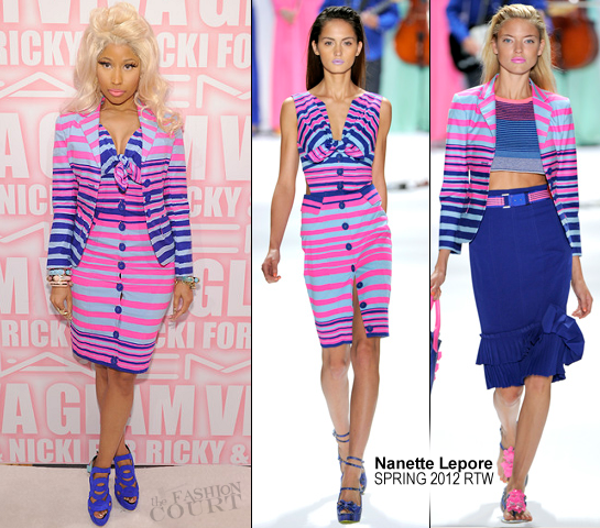 Nicki Minaj in Nanette Lepore | MAC Cosmetics Viva Glam Party