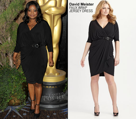 Octavia Spencer in David Meister | 84th Annual Academy Awards Nominees Luncheon