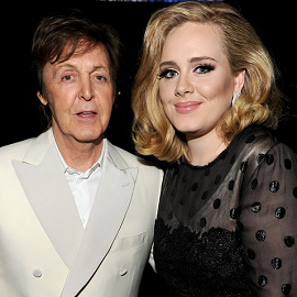 Paul McCartney & Lady Gaga | 2012 GRAMMY Awards