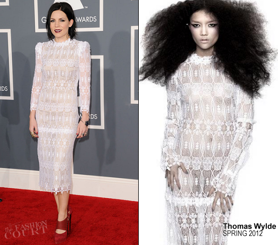 Skylar Grey in Thomas Wylde | 2012 GRAMMY Awards
