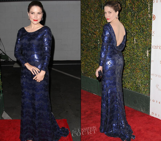 Sophia Bush in Katharine Kidd | The Art Of Elysium Hosts 5th Annual 'Pieces Of Heaven' Art Auction