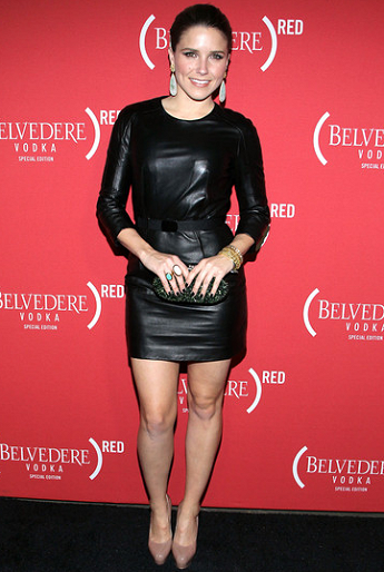 Sophia Bush in Paule Ka | (Belvedere) RED Pre-Grammys Party with Mary J. Blige