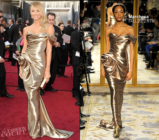 Stacy Keibler in Marchesa | 2012 Oscars