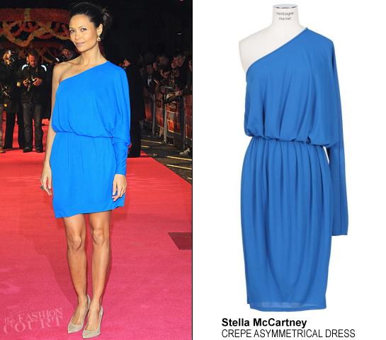 Thandie Newton in Stella McCartney | 'The Best Exotic Marigold Hotel' London Premiere