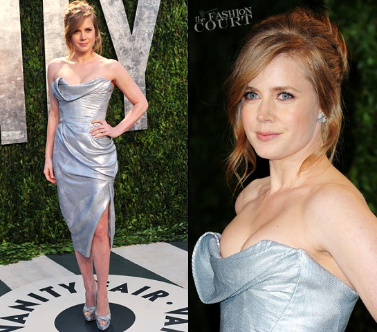 Amy Adams in Vivienne Westwood | 2012 Vanity Fair Oscar Party