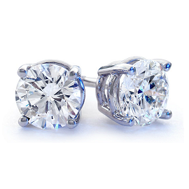 Blue Nile Diamond Stud Earrings
