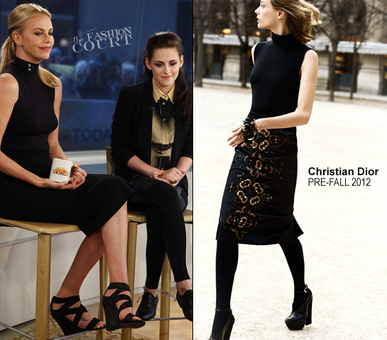 Charlize Theron in Christian Dior | 'The TODAY Show'