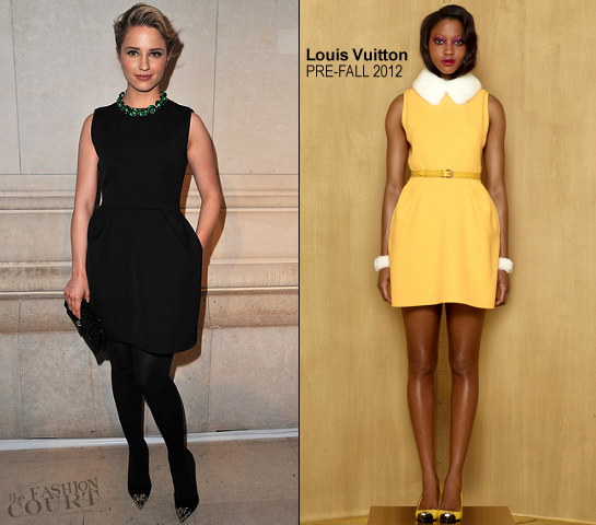 Dianna Agron in Louis Vuitton | 'Louis Vuitton - Marc Jacobs: The Exhibition' Opening