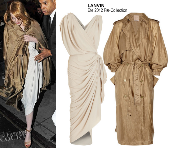Emma Stone in Lanvin | 'Death Of A Salesman' Broadway Opening Night