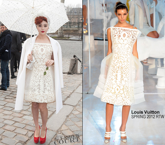 Fan Bingbing in Louis Vuitton | Paris Fashion Week: Fall 2012 - Louis Vuitton