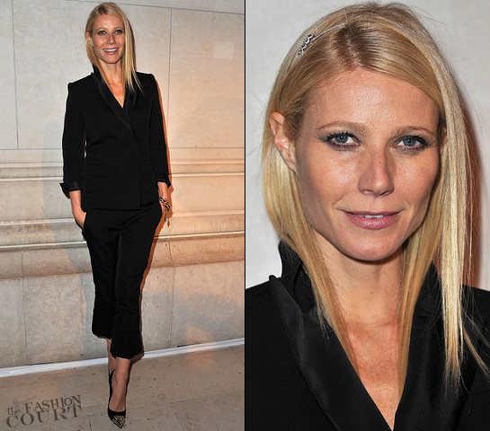 Gwyneth Paltrow in Louis Vuitton | 'Louis Vuitton - Marc Jacobs: The Exhibition' Opening