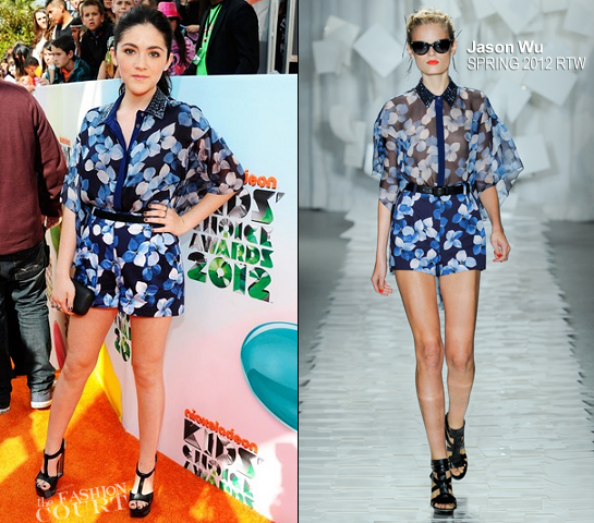 Isabelle Fuhrman in Jason Wu | 2012 Kids' Choice Awards