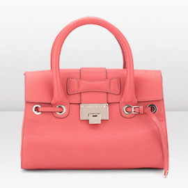Jimmy Choo ROSALIE Leather Satchel