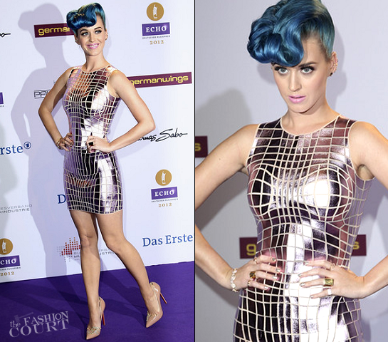 Katy Perry in Paco Rabanne | Echo Awards 2012