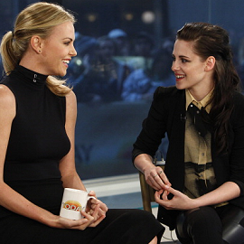 Kristen Stewart in Rebecca Minkoff, Diesel, Helmut Lang & Balenciaga on 'The Today Show'!